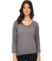 Michael Stars - Chelsea Triblend Elbow Sleeve Scoop Neck