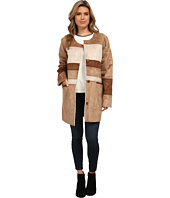 Sam Edelman - Color Block Shearling Jacket
