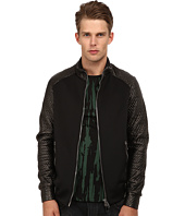 CoSTUME NATIONAL - Diamond Weave Track Jacket