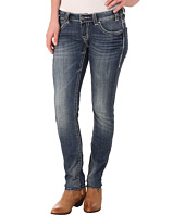 Rock and Roll Cowgirl - Low Rise Skinny in Dark Vintage W0S4488