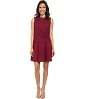 Donna Morgan - Sleeveless Charmeuse Twofer Dress