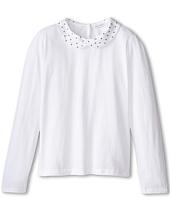 Dolce & Gabbana Kids - Back to School Collared T-Shirt (Big Kids)