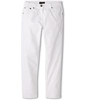 Dolce & Gabbana Kids - Mediterranean Five-Pocket Jeans in White/Denim (Big Kids)