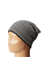 Plush - Fleece - Lined Herringbone Beanie