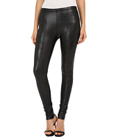 Plush - Fleece-Lined Liquid Moto Leggings