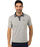 U.S. POLO ASSN. - Solid Slim Fit Stretch Pique Polo