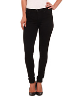 Hudson - Nico Mid Rise Super Skinny Jeans in Black