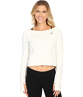 ASICS - Crop Fleece Long Sleeve Top