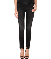 Pierre Balmain - Ribbed-Side Jeans in Black FP5358JO35B