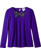 Armani Junior - Long Sleeve Armani Bow Tee (Toddler/Little Kids)