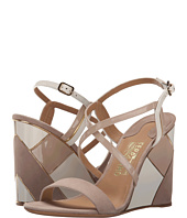 Salvatore Ferragamo - Mixed Media Wedge Sandal