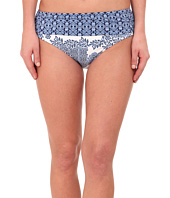 Tommy Bahama - Stamped Medallion High Waist Sash Bikini Bottom