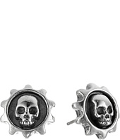 King Baby Studio - Gear Skull Post Earrings