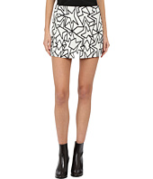 Neil Barrett - Pop Art Jacquard Skirt