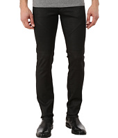 Versace Collection - Wax Coated Slim Fit Moto Denim