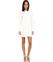 Vera Wang - Shift Dress w/ Asymmetrical Sleeves
