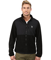 U.S. POLO ASSN. - Polar Fleece Mock Neck Jacket