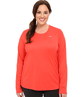 Nike - Miler Long-Sleeve Running Top (Size 1X-3X)