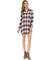 BB Dakota - Nikki Yarn Dyed Rayon Shirt Dress