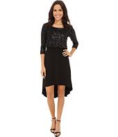 Karen Kane - Sequin Top Hi-Lo Dress