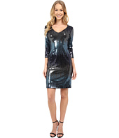 Karen Kane - Waterfall Sequin Sheath Dress