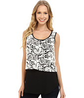 Karen Kane - Double Layer Lace Tank Top