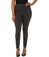 Lysse - Plus Size Leather Inset Leggings