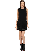 McQ - Studded Pleat Dress