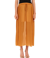 See by Chloe - Pleated Gorgete Maxi Skirt