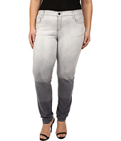 DKNY Jeans - Plus Size Soho Skinny in Grey Hang Bleach
