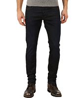 G-Star - 3301 Tapered Fit Jeans in Visor Stretch Denim Dark Aged