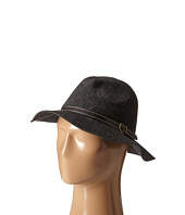 Steve Madden - Wide Brim Fedora with Hat Band