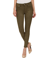 7 For All Mankind - High Waist Ankle Knee Seam Skinny in Olive