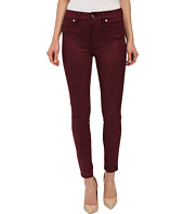 7 For All Mankind - High Waist Ankle Knee Seam Skinny in Merlot