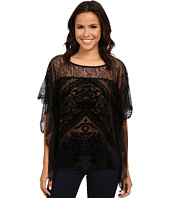 Hale Bob - Truth Or Flare Velvert Burnout w/ Lace Top