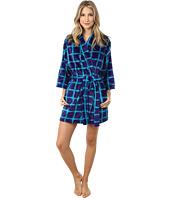 Josie - Plaid Plush Robe