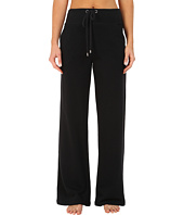 Yummie - Wide Leg Pants w/ Ribbed Detail