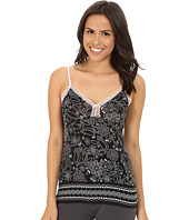 P.J. Salvage - Blk N Blush Sleep Tank Top