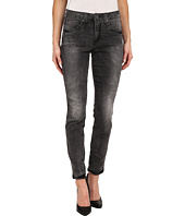 Miraclebody Jeans - Rikki Distressedd Skinny Jeans in Ashville Grey