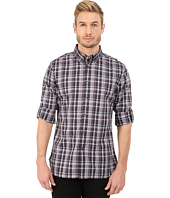 John Varvatos Star U.S.A. - Slim Fit Plaid Button Down Collar Sport Shirt W426R4B