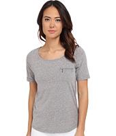 Mavi Jeans - Short Sleeve T-Shirt with Zipped Chest Pocket