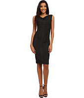 Nicole Miller - Metallic Stretch Party Sheath Dress
