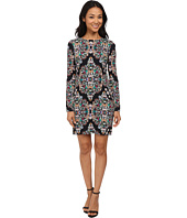 Nicole Miller - Mercedes Resplendent Long Sleeve Dress