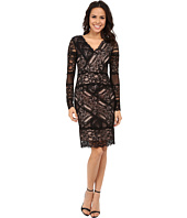 Nicole Miller - Aliana Stretch Long Sleeve Lace Dress