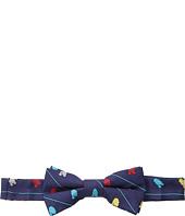 Cufflinks Inc. - Star Wars™ R2D2 Striped Silk Bow Tie (Toddler/Little Kid/Big Kid)