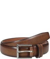 Cole Haan - 32mm Burnished Leather Harness Buckle Belt