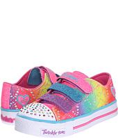 SKECHERS KIDS - Twinkle Toes - Shuffles 10612L Lights (Little Kid/Big Kid)