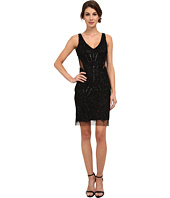 Adrianna Papell - Fully Beaded Halter Cocktail Dress