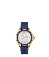 Michele - Cape Topaz Gold Tone Navy