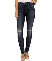 7 For All Mankind - Mid-Rise Skinny in Marie Vintage Blue 2